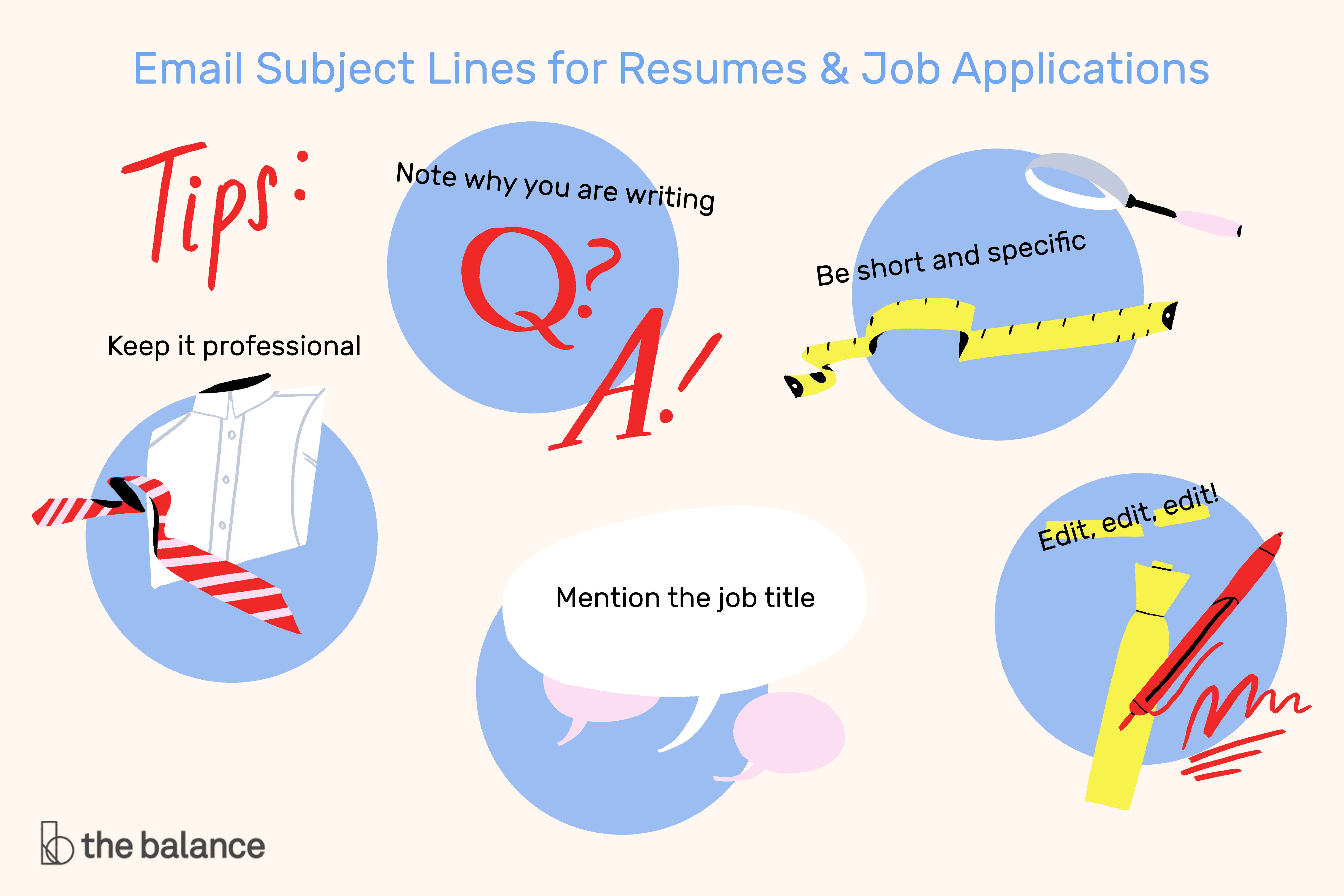 Email Subject Lines for Resumes and Job Applications