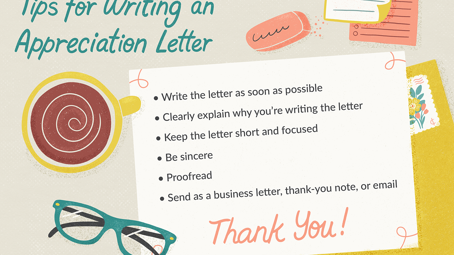 Appreciation Letter Examples and Writing Tips