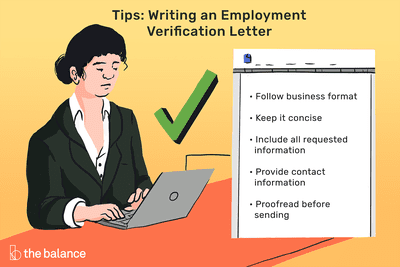 Employment Verification Letter Sample and Templates