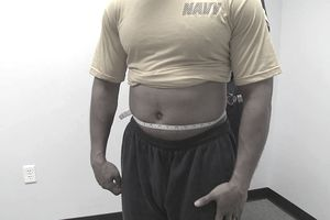 navy weight standards