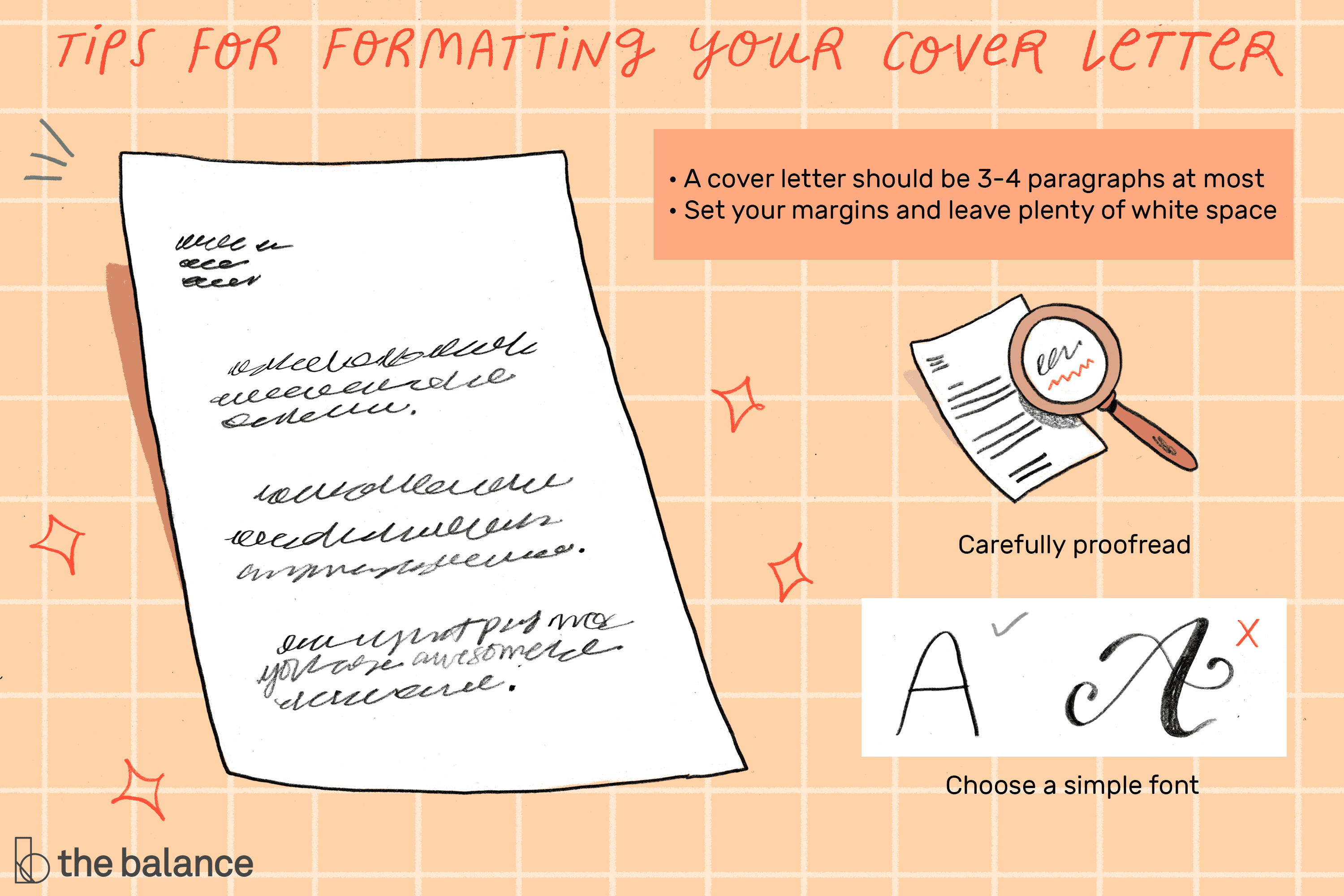 Tips for Formatting a Cover Letter for a Resume