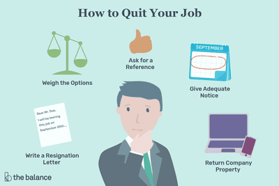 How to Quit Your Job: Resigning Gracefully