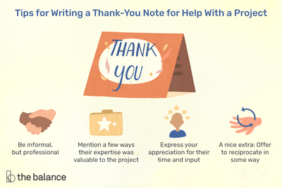 Informal Thank You Letter from www.thebalancecareers.com