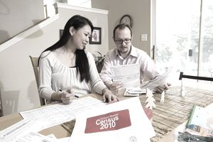 Interacial Couple Filling out Census