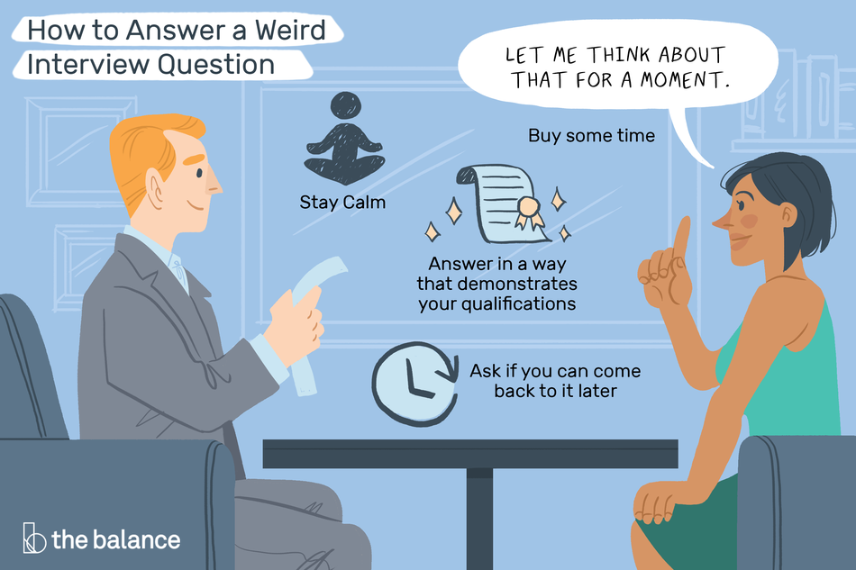 How to Answer Weird Interview Questions