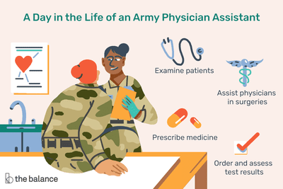 A day in the life of an army physician assistant: Examine patients, assist physicians in surgeries, prescribe medicine, order and assess test results