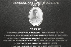 General McAuliffe - Never Surrender