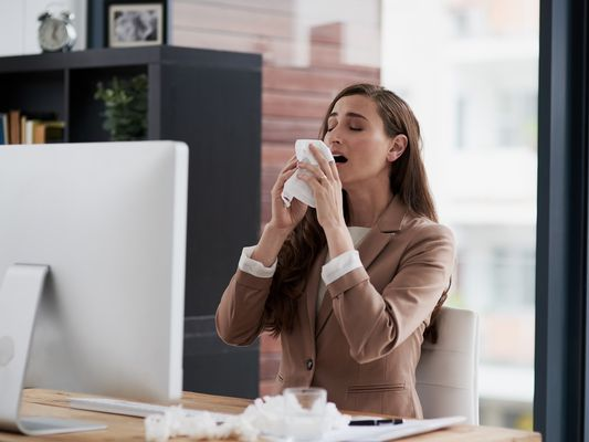 Presenteeism causes employees to work when they are sick thus limiting productivity.