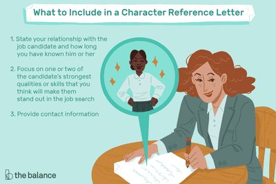 Character Reference Letter Example and Writing Tips