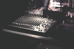 sound board at club