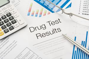 Drug test results
