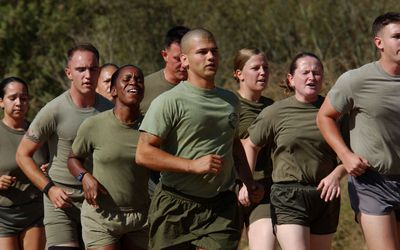 US Marine Corps Height and Weight Charts