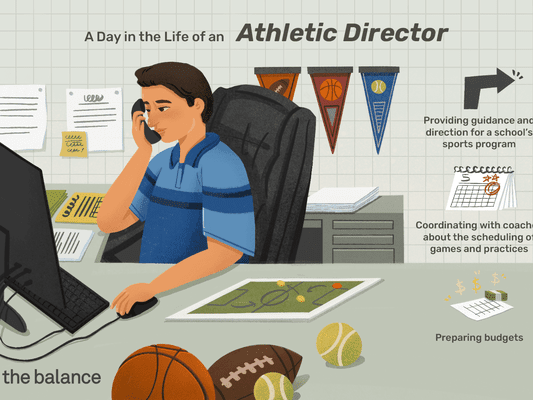 a day in the life of an athletic director